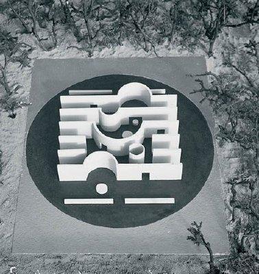 Павильон в парке Музея Кроллер-Мюллер. Макет. 1966