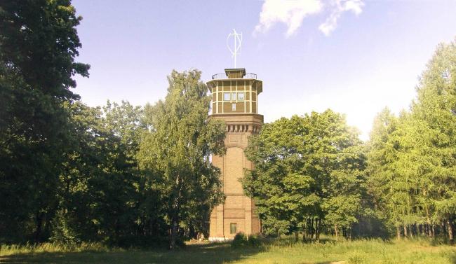 Башня зелёной волны © Архитектурная мастерская Цыцина