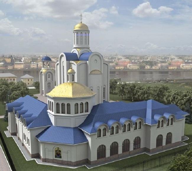 Храма Успения Пресвятой Богородицы © Архитектурная мастерская Цыцина