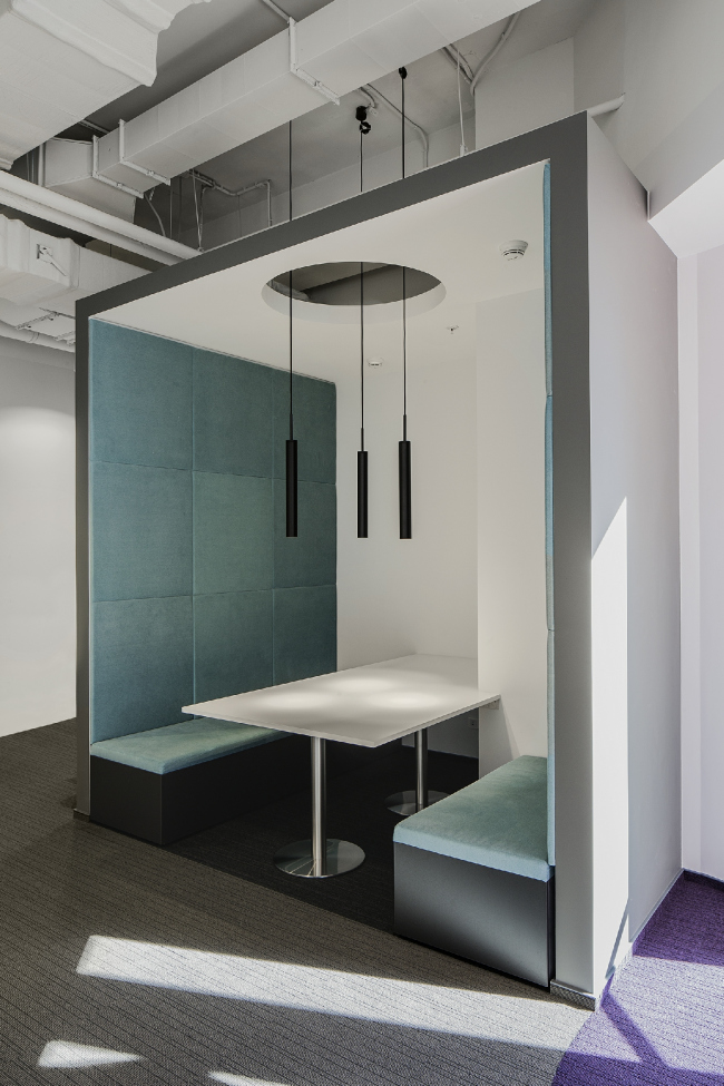 Офис Orange Business Servicesв башне «Меркурий». Реализация, 2016 © T+T Architects