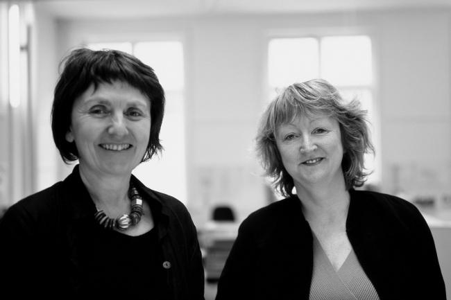 Шелли МакНамара и Ивонн Фаррелл. Фото предоставлено Grafton / La Biennale di Venezia