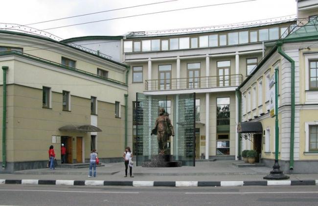 Проект памятника А.И. Солженицыну © ГрандПроектСити