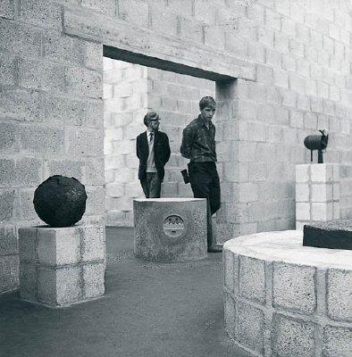 Павильон в парке Музея Кроллер-Мюллер. Фото. 1966