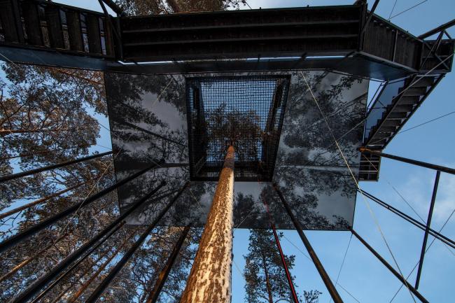 Вилла The 7th room в гостинице Treehotel © Johan Jansson