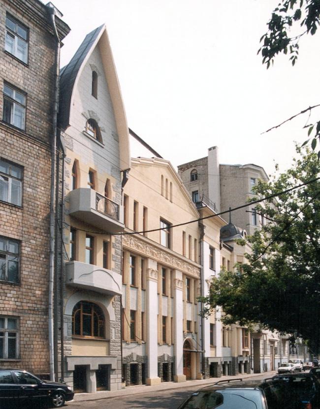 Реконструкция жилого дома в Чистом переулке © Сергей Скуратов ARCHITECTS