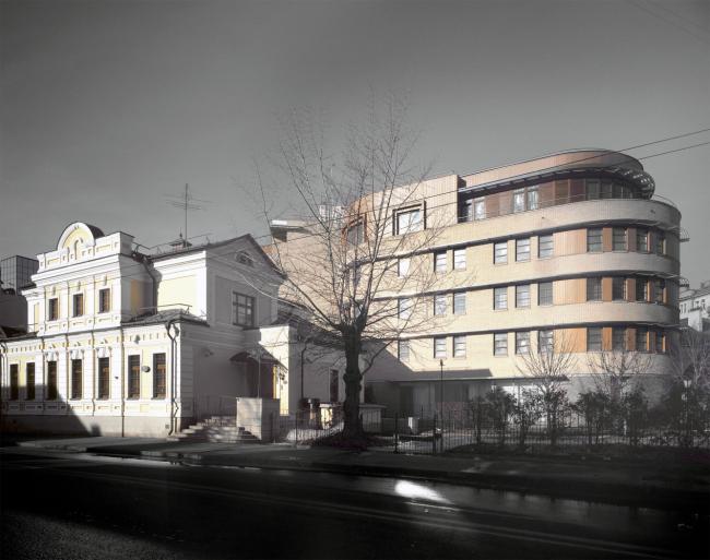 Жилищно-коммерческий комплекс на Большой Полянке © Сергей Скуратов ARCHITECTS