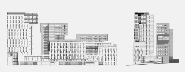 Многофункциональный комплекс в Якиманском проезде © Сергей Скуратов ARCHITECTS