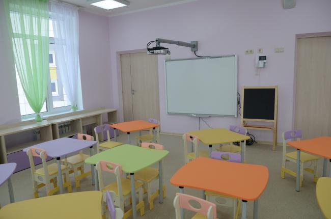 Детский сад «101 далматинец». Интерьер © Группа компаний А101. Предоставлено пресс-службой «Москомархитектуры»