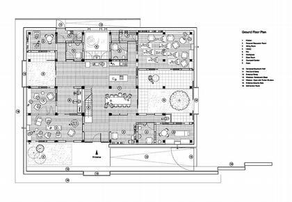 Онкологический центр Мэгги больницы Чэринг-Кросс. План первого этажа