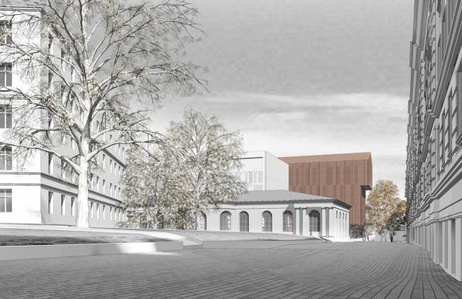Жилой комплекс на ул. Петровка © Сергей Скуратов ARCHITECTS