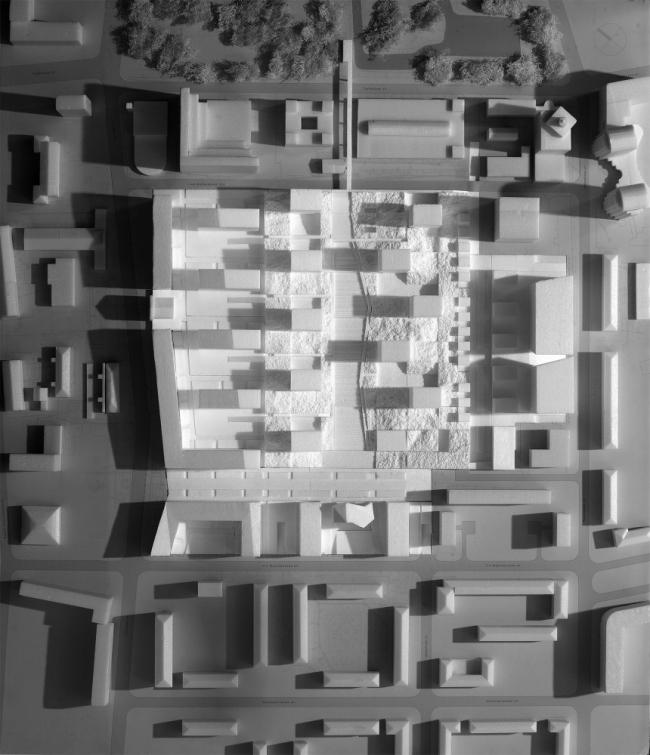 Застройка территории занимаемой «РТИ Каучук». Конкурсное предложение © Сергей Скуратов ARCHITECTS