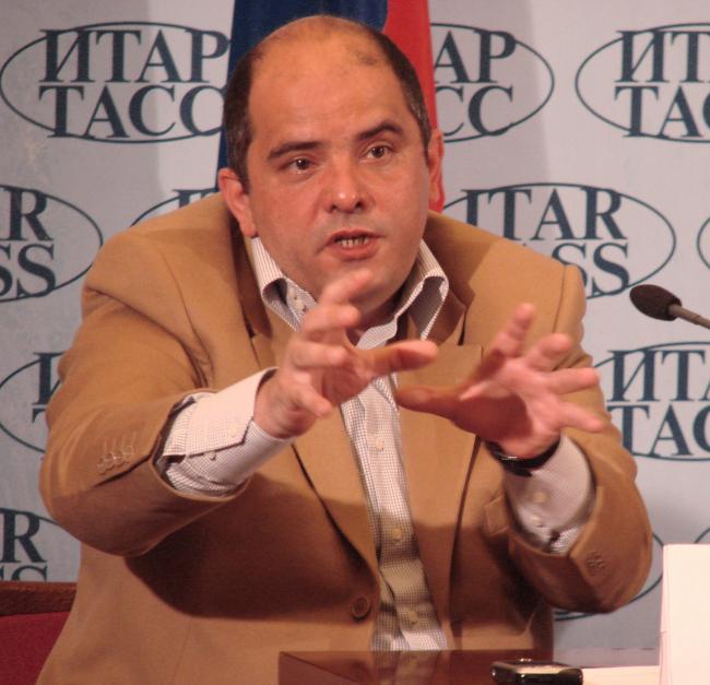 Григорий Ревзин, куратор, автор концепции российского павильона XI венецианской биеннале Фотографии Ю. Тарабариной