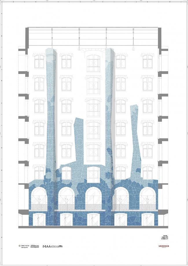 Общественная зона Марсельских доков © 5+1AA