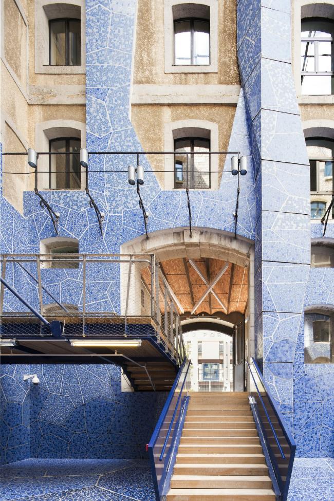 Общественная зона Марсельских доков © Luc Boegly