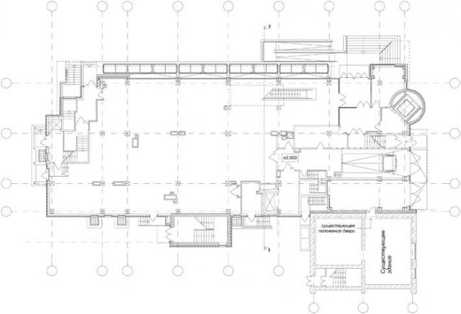 План 1-го этажа © Архстрой