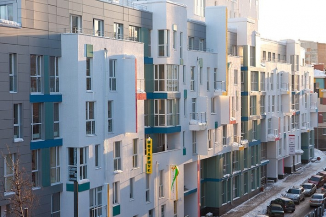 Жилой комплекс по улице Блохиной © Мастерская Пестова и Попова