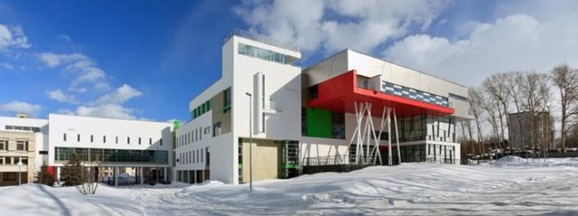 Школа Олимпийского резерва «Гимнаст», корпус по ул. Ванеева в Советском районе