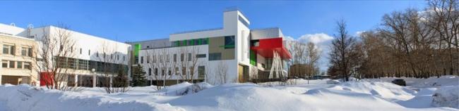 Школа Олимпийского резерва «Гимнаст», корпус по ул. Ванеева в Советском районе © Офис открытой архитектуры