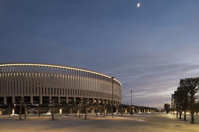 Cтадион ФК «Краснодар». Реализация, 2016. Архитектурное бюро SPEECH. Фотография © Илья Иванов