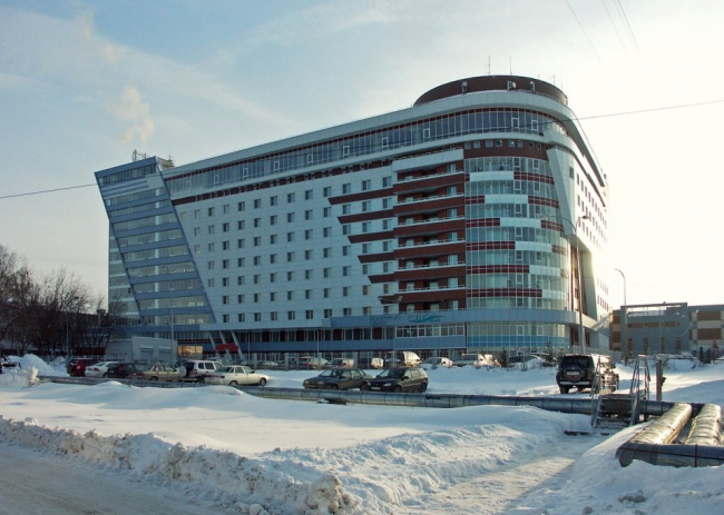 Гостиница «Ока». Фотография © Надежда Щема