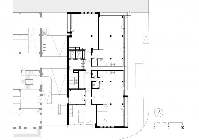 Штаб-квартира компании Gebr. Heinemann – новый корпус © gmp