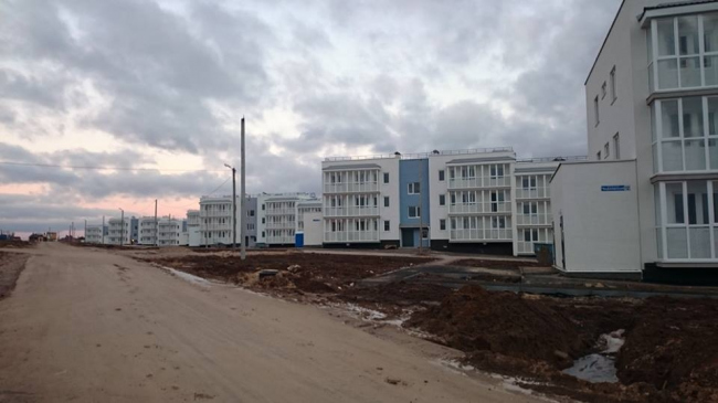 ЖК «Окский берег» 33 квартал © Юрий Болгов, Александр Гребенников