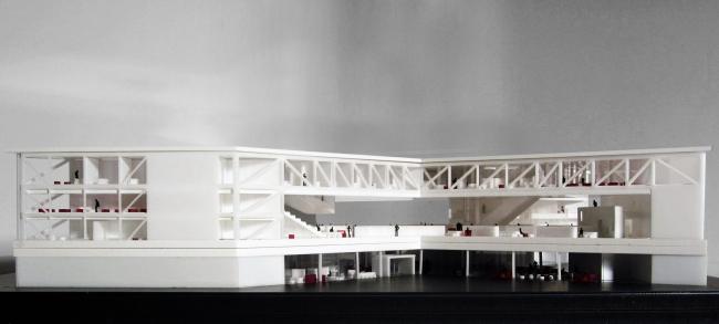 Библиотека имени Алексиса де Токвиля © OMA