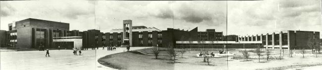 Панорама комплекса. 1972 г. Фото © В. Крыжный