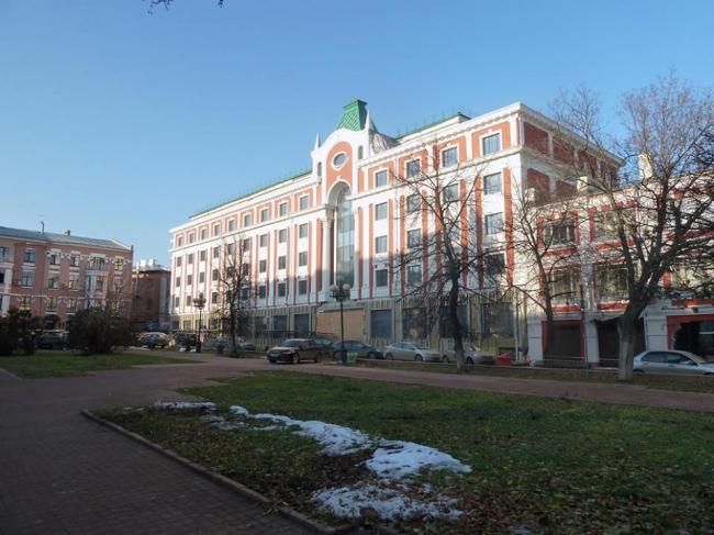 Гостиница на Театральной площади в Нижнем Новгороде© Мастерская Пестова и Попова