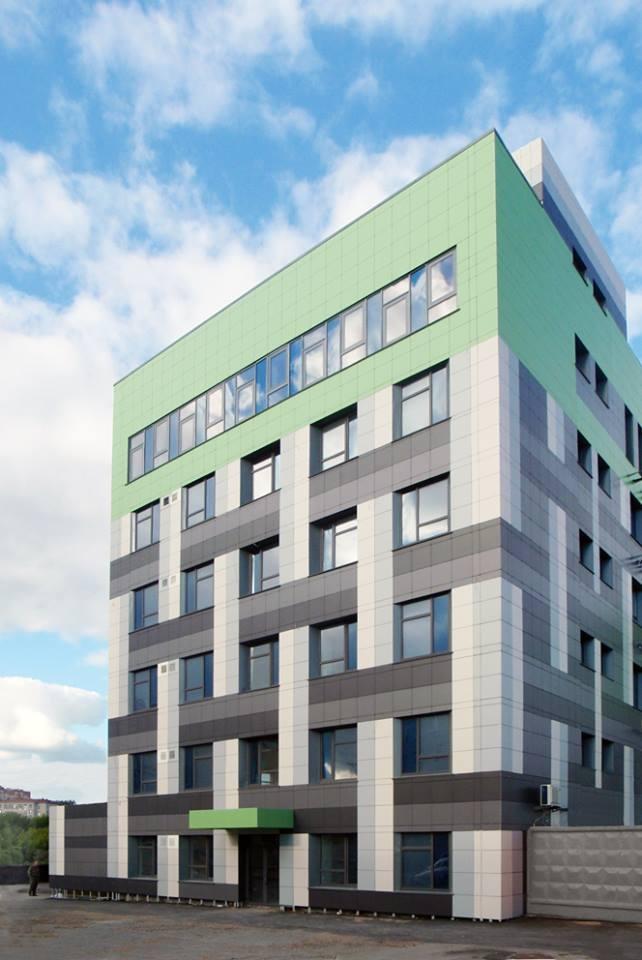 Реконструкция административного здания под здание бизнес – центра на ул. Ошарская, 95. Генпроектировщик:  «Проспект»