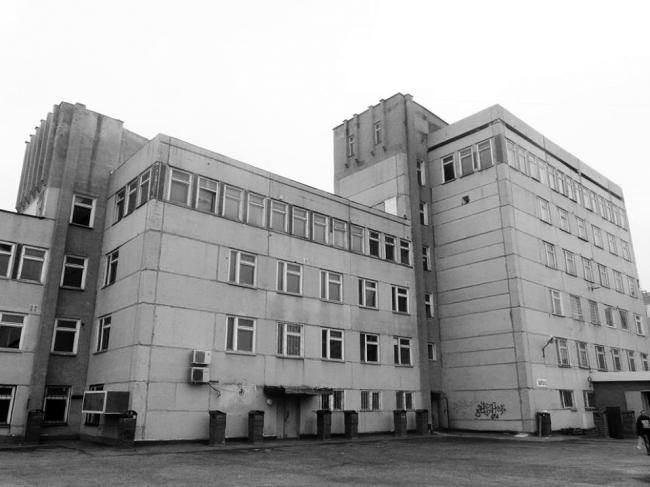 Реконструкция административного здания под здание бизнес – центра на ул. Ошарская, 95. Существующее положение.  Генпроектировщик:  «Проспект»