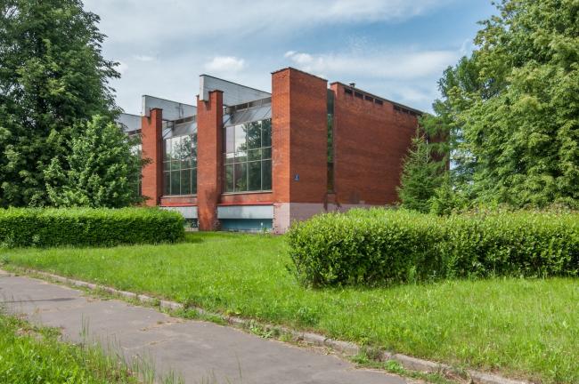 Фрагмент здания. 2015 г. Фото © Денис Есаков