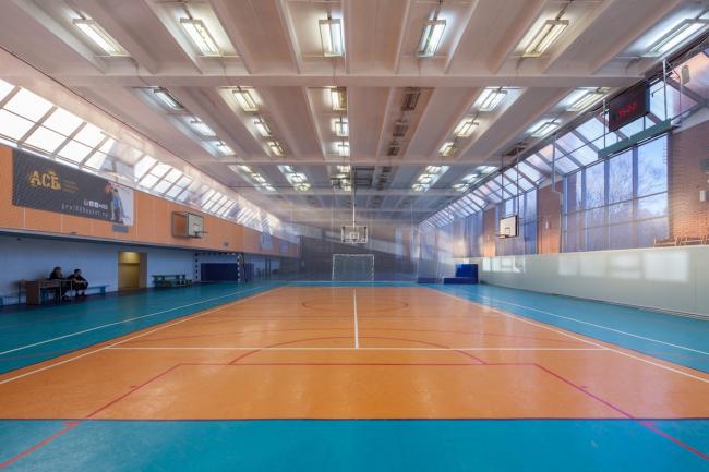 Спортивный зал. 2015 г. Фото © Денис Есаков