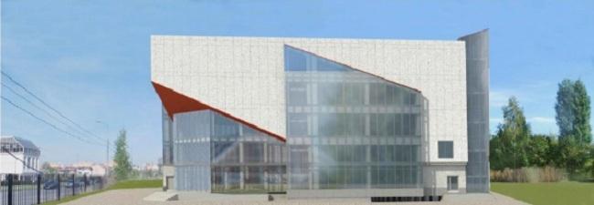 Физкультурно-оздоровительный комплекс в Куркино © ОАО «Моспроект». Предоставлено пресс-службой «Москомархитектуры»