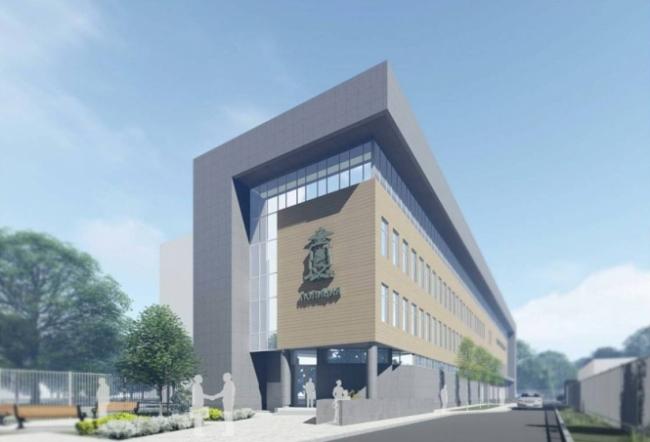Здание полиции на ул. Бажова © Проектно-Строительное Объединение № 1. Предоставлено пресс-службой «Москомархитектуры»