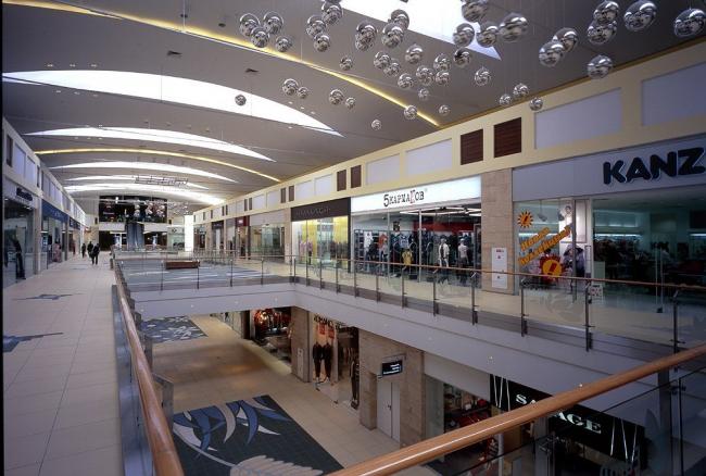 Многофункциональный торговый комплекс «Европарк» © ABD architects