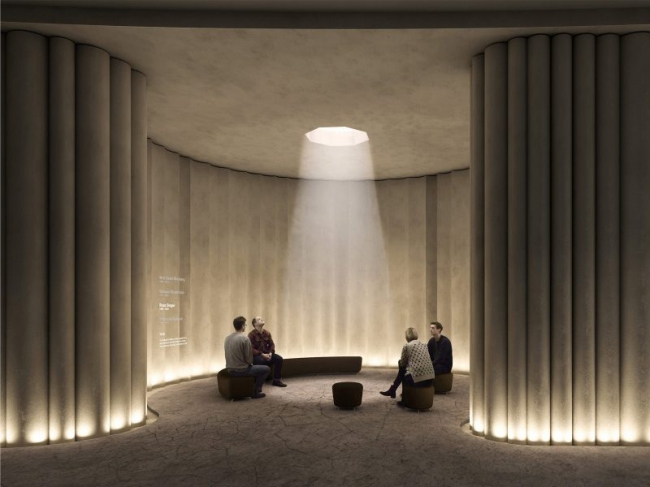 Конкурсный проект Мемориала Холокоста в Лондоне © MRC, Caruso St John