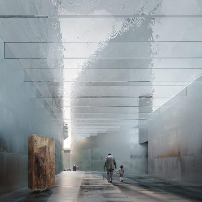 Конкурсный проект Мемориала Холокоста в Лондоне © MRC, Lahdelma & Mahlamäki Architects