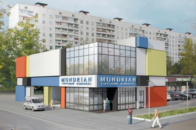 Торговый комплекс на Саянской улице © Проектно-инжиниринговое предприятие «Александръ»