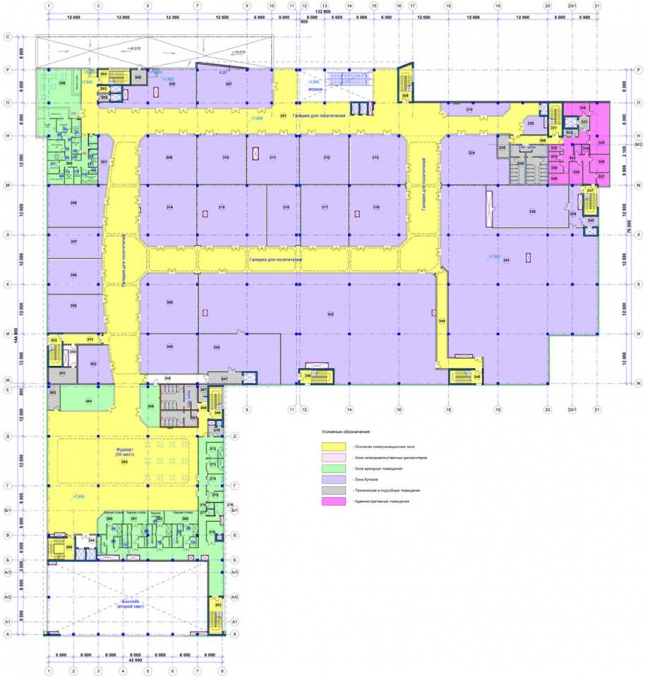 Торгово-развлекательный центр «Крым». План 3-го этажа © СС Проект