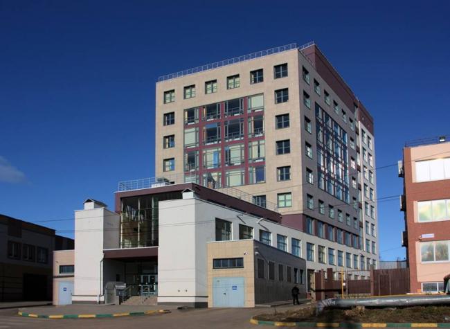 Административное здание на ул. Деловая © Архитекторы: А. Худин, И. Широков