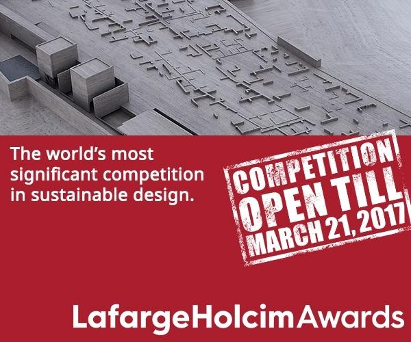 Пятый конкурс интеллектуальных решений в сфере градостроительства и урбанизированной среды LafargeHolcim Awards