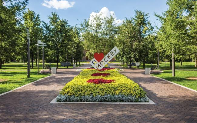 Москва. Гончаровский парк. Фотография © Wienerberger