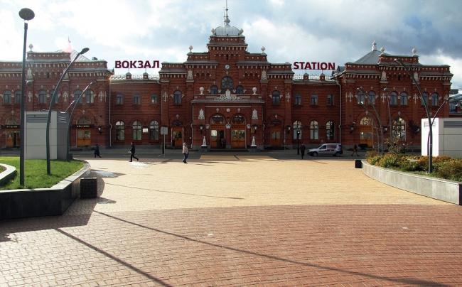 Казань. Привокзальная площадь. Фотография © Wienerberger