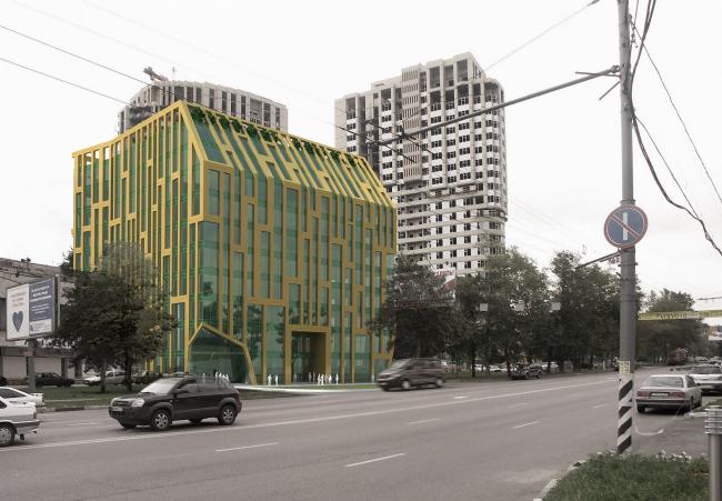 Многофункциональный торгово-офисный комплекс, Нахимовский пр-т © ABD architects