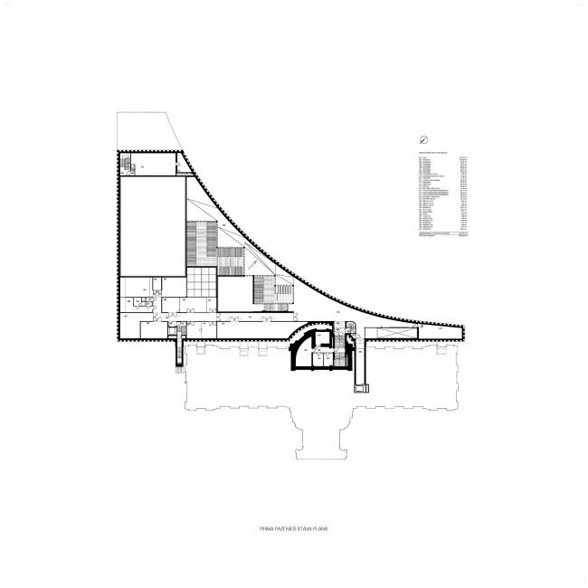 Реконструкция Латвийского национального художественного музея © Processoffice