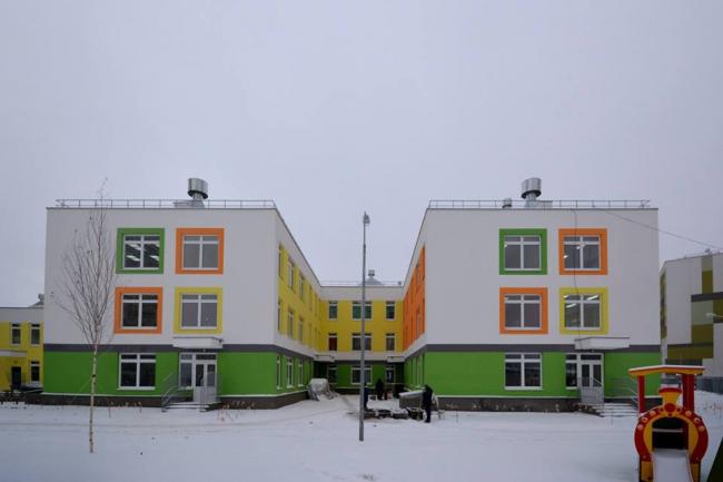 Детский сад в микрорайоне «Юг» © СС Проект