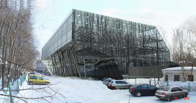 Корпоративный центр на территории МГУ © ABD architects