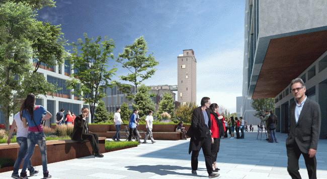 Концепция развития исторического центра Челябинска © АМ «Атриум»