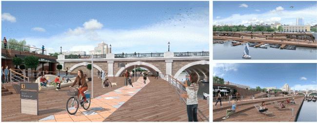 Концепция развития исторического центра Челябинска © НИ и ПИ Градплан города Москвы